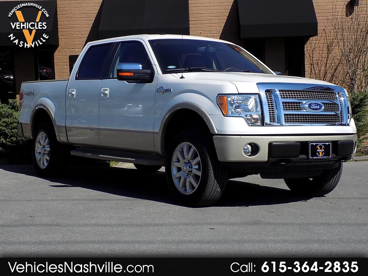 2010 Ford F-150 King Ranch Super Crew 4x4