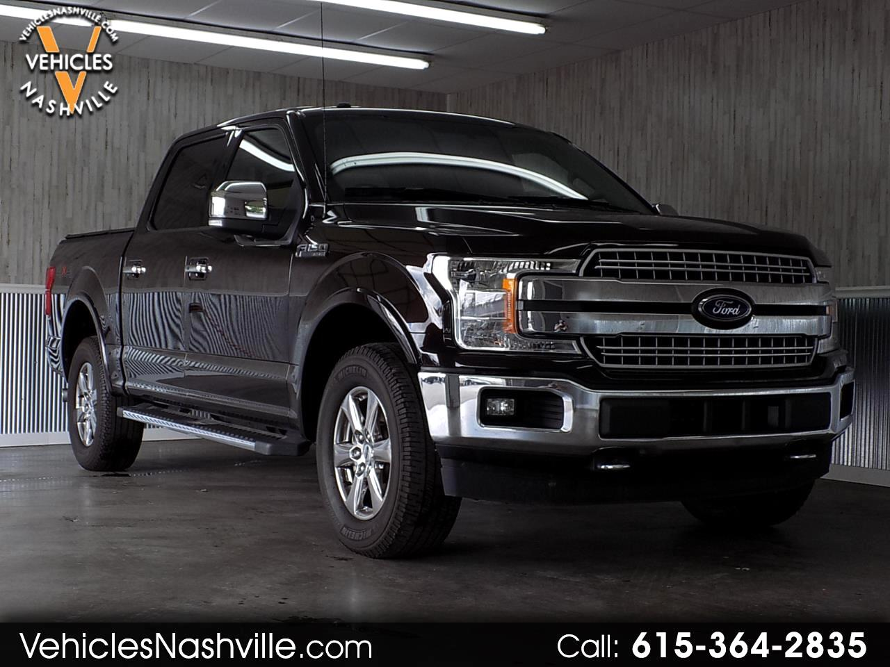 "2018 Ford F-150 SuperCrew 139"" Lariat 4WD"
