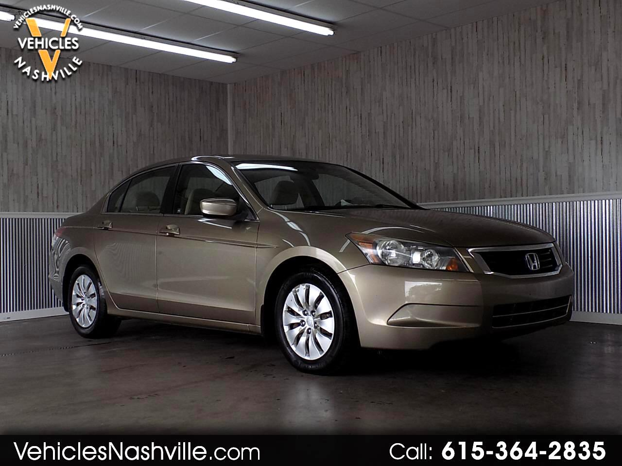 2010 Honda Accord LX sedan AT
