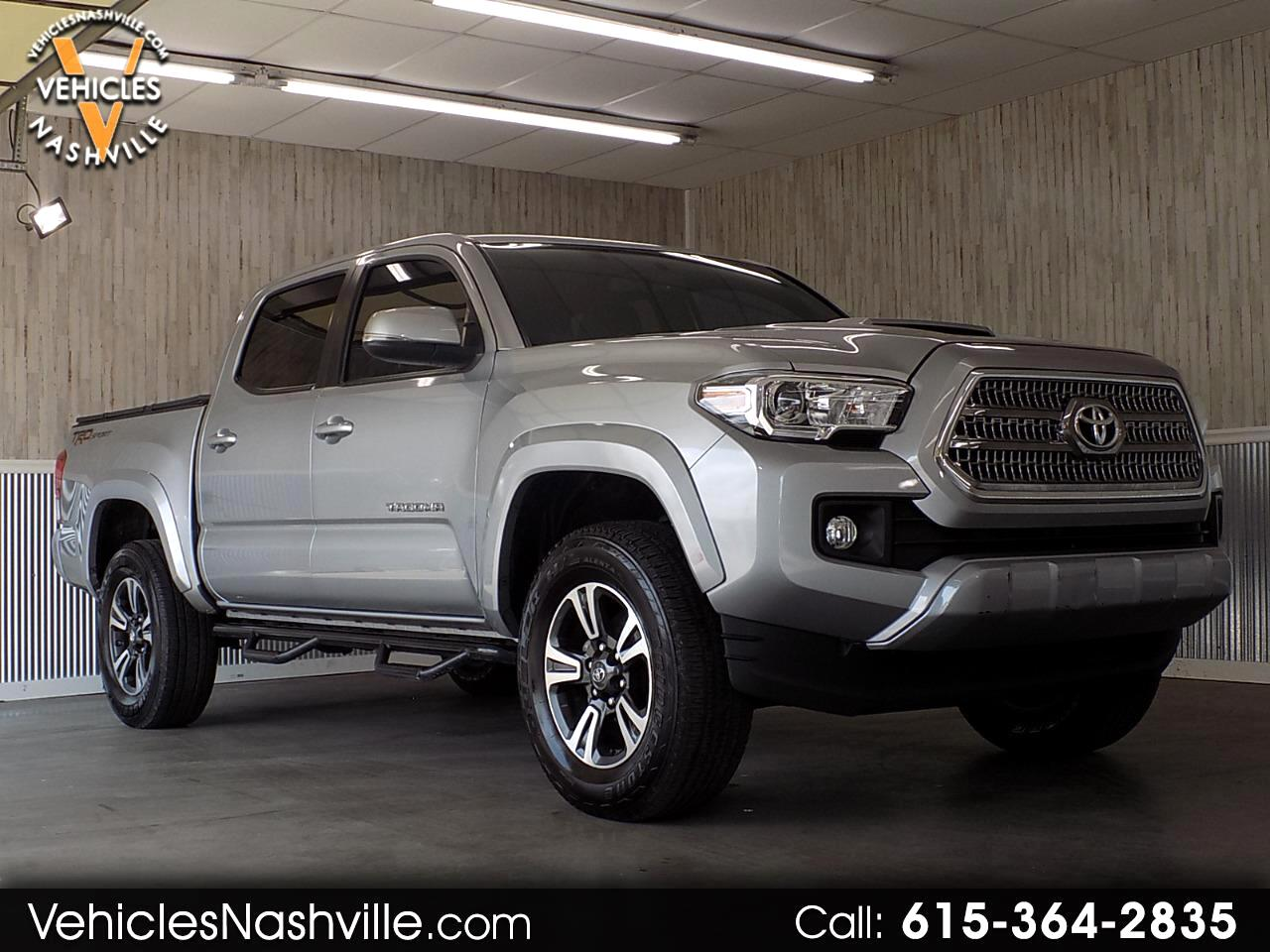 2016 Toyota Tacoma TRD Sport Double Cab 5' Bed V6 4x2 AT (Natl)