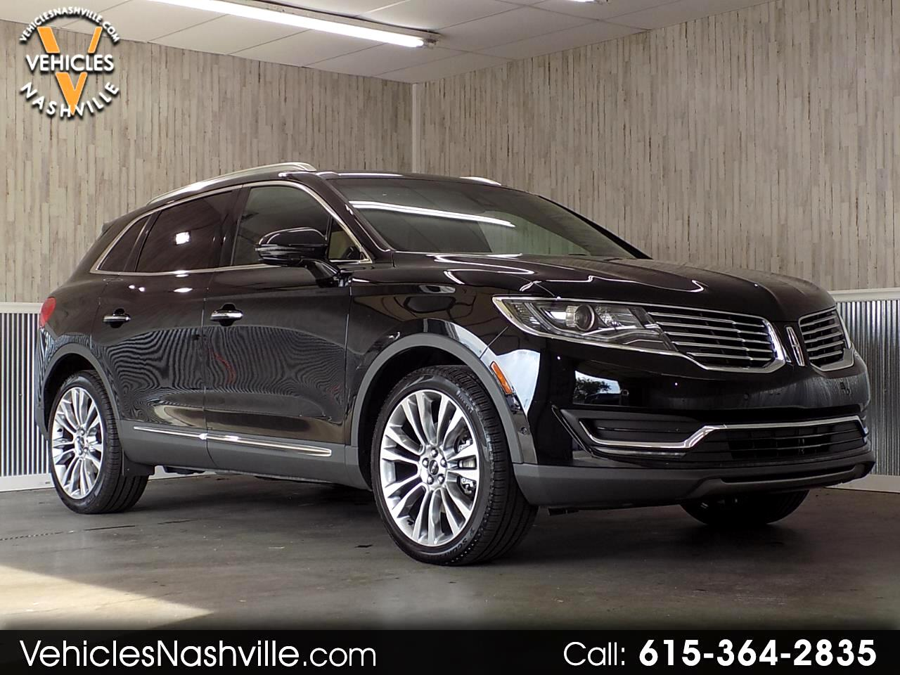 2018 Lincoln MKX Reserve AWD