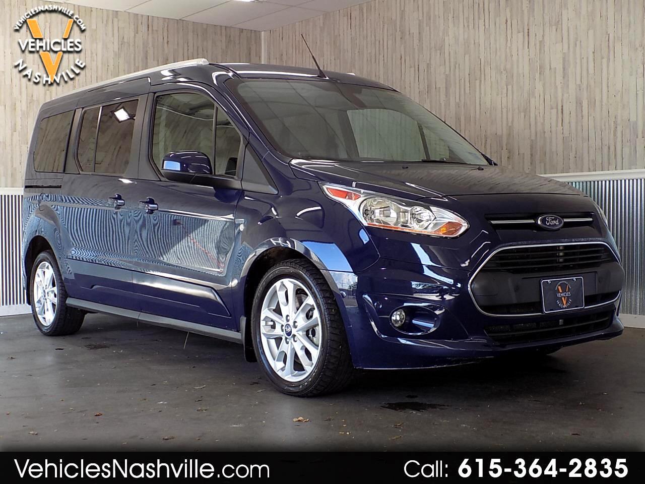 2017 Ford Transit Connect Wagon Titanium w/Rear Liftgate LWB