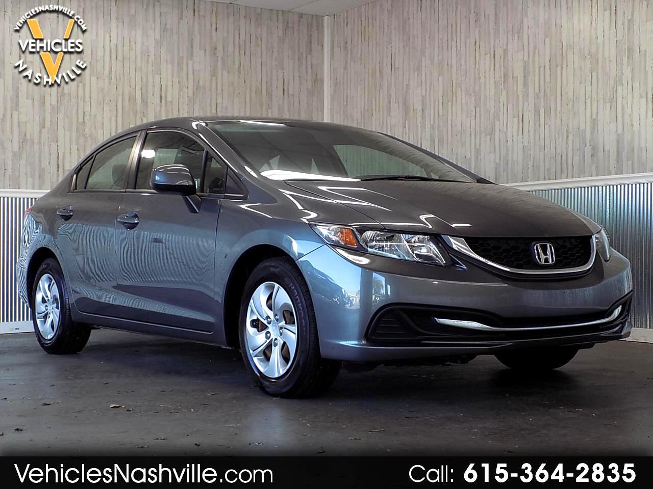 2013 Honda Civic LX Sedan 5-Speed MT