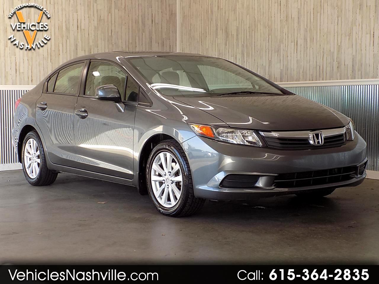 2012 Honda Civic 4dr Sdn EX Auto