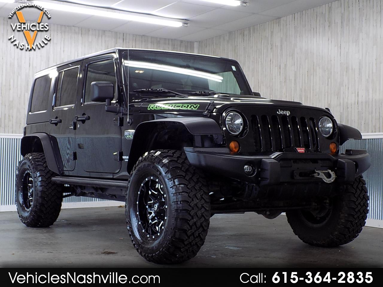 2012 Jeep Wrangler 4WD 4dr Unlimited Rubicon