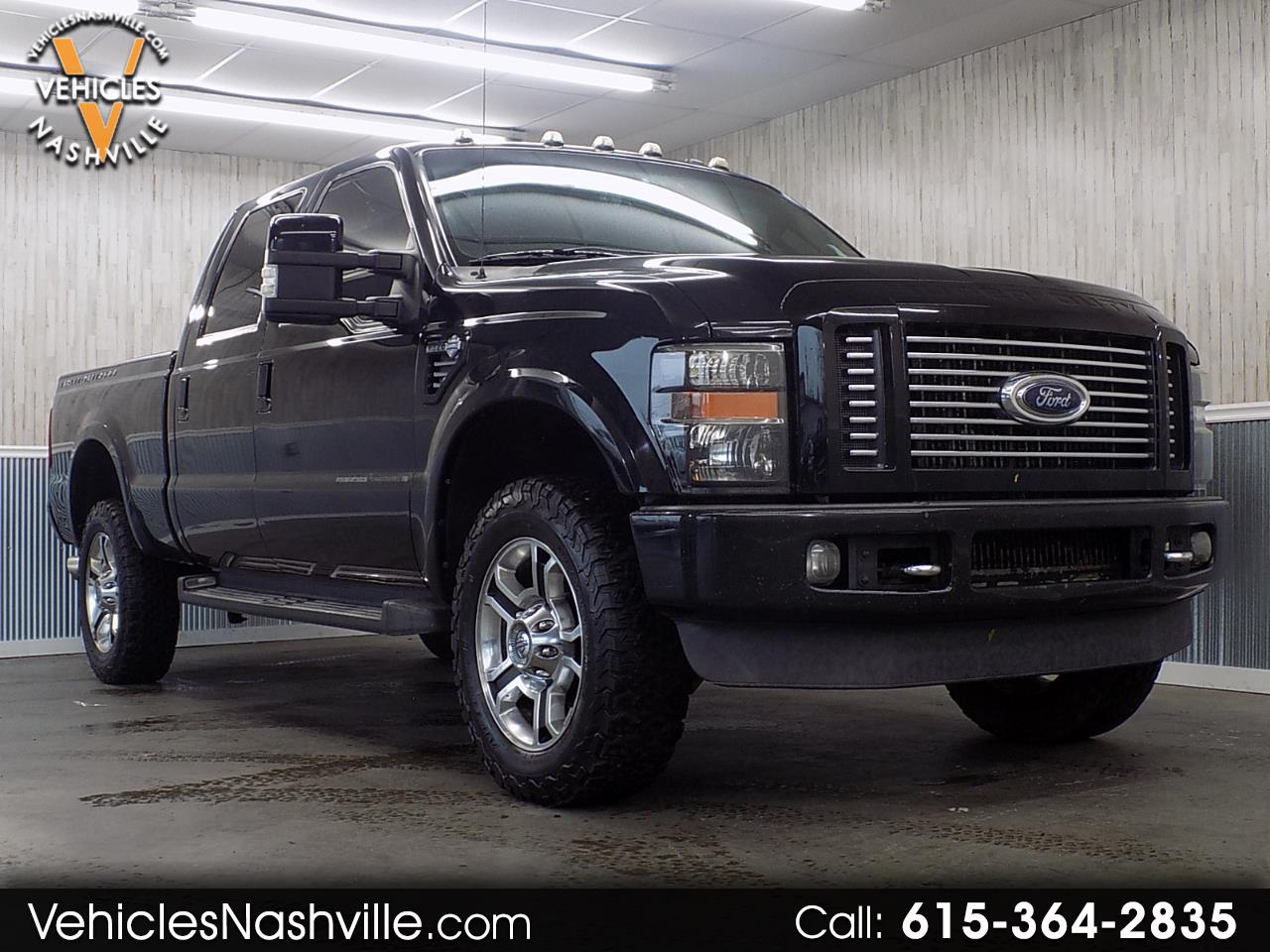2010 Ford F-350 SD Harley Davdison 4WD