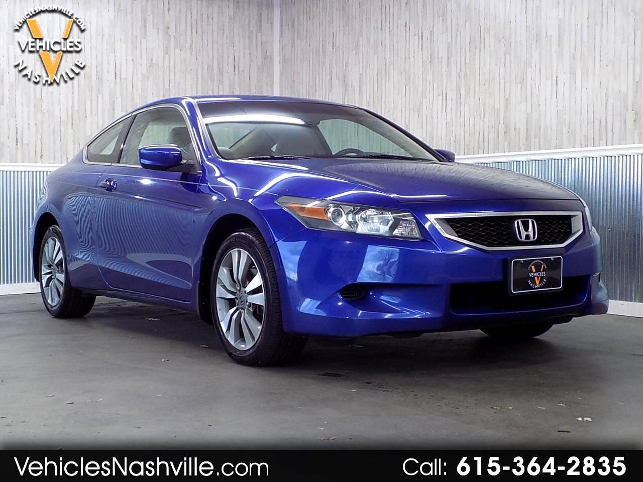 2008 Honda Accord LX-S Coupe AT