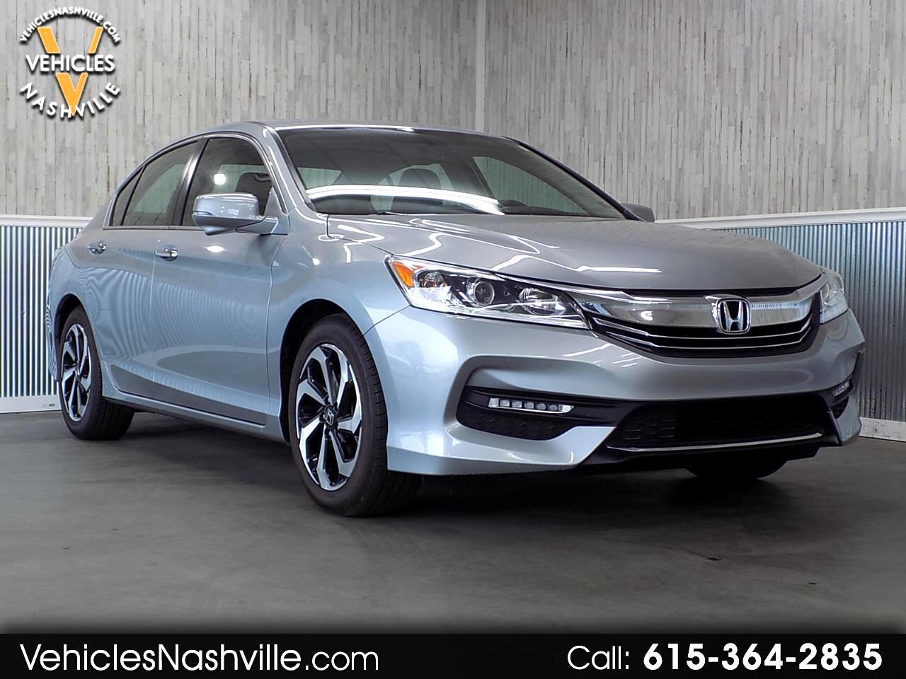 2017 Honda Accord EX-L Sedan CVT