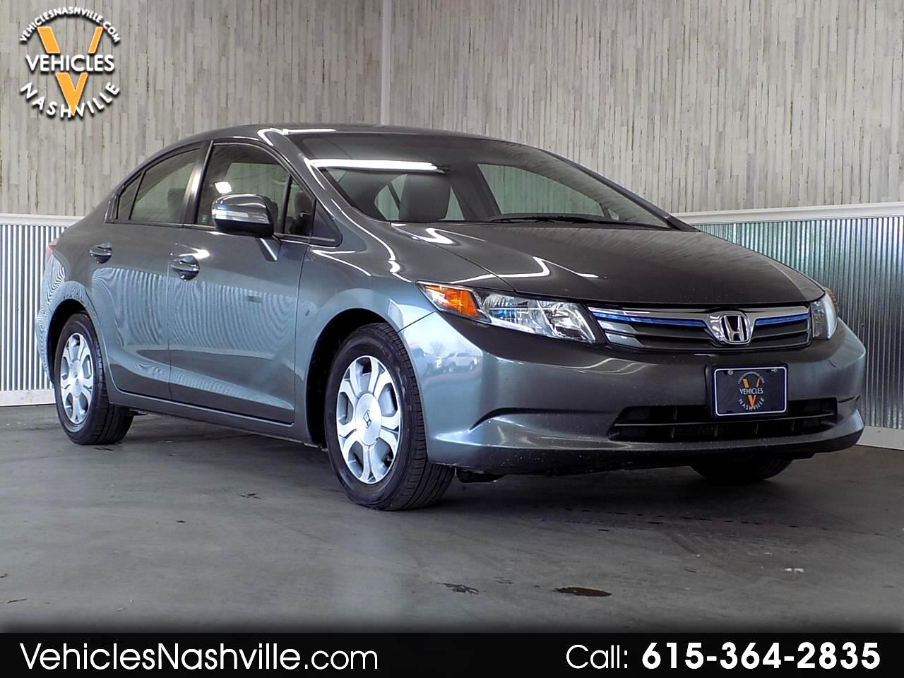 2012 Honda Civic Hybrid 4dr Sdn L4 CVT