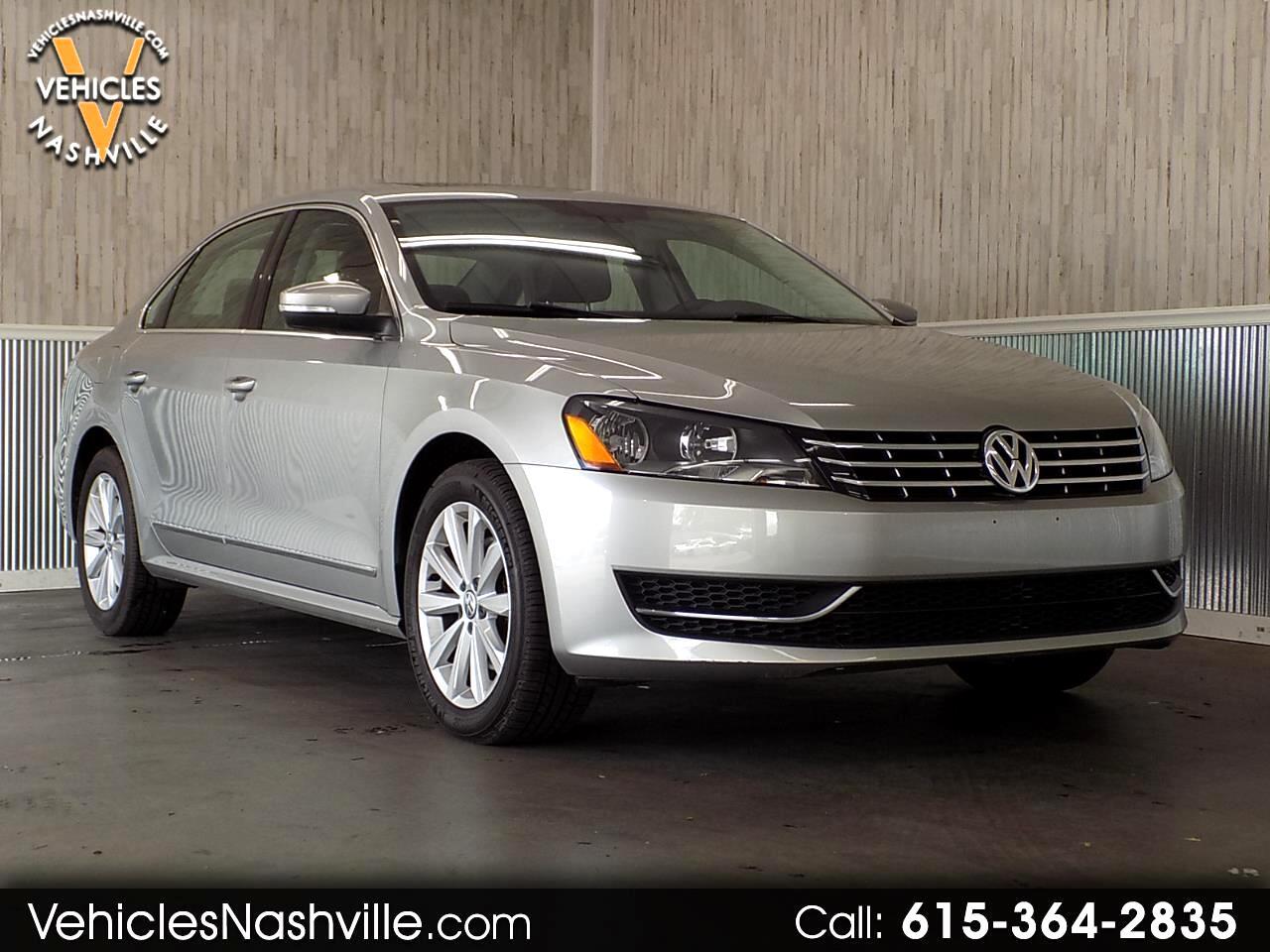 Volkswagen Passat 2.5L SEL Premium 2013