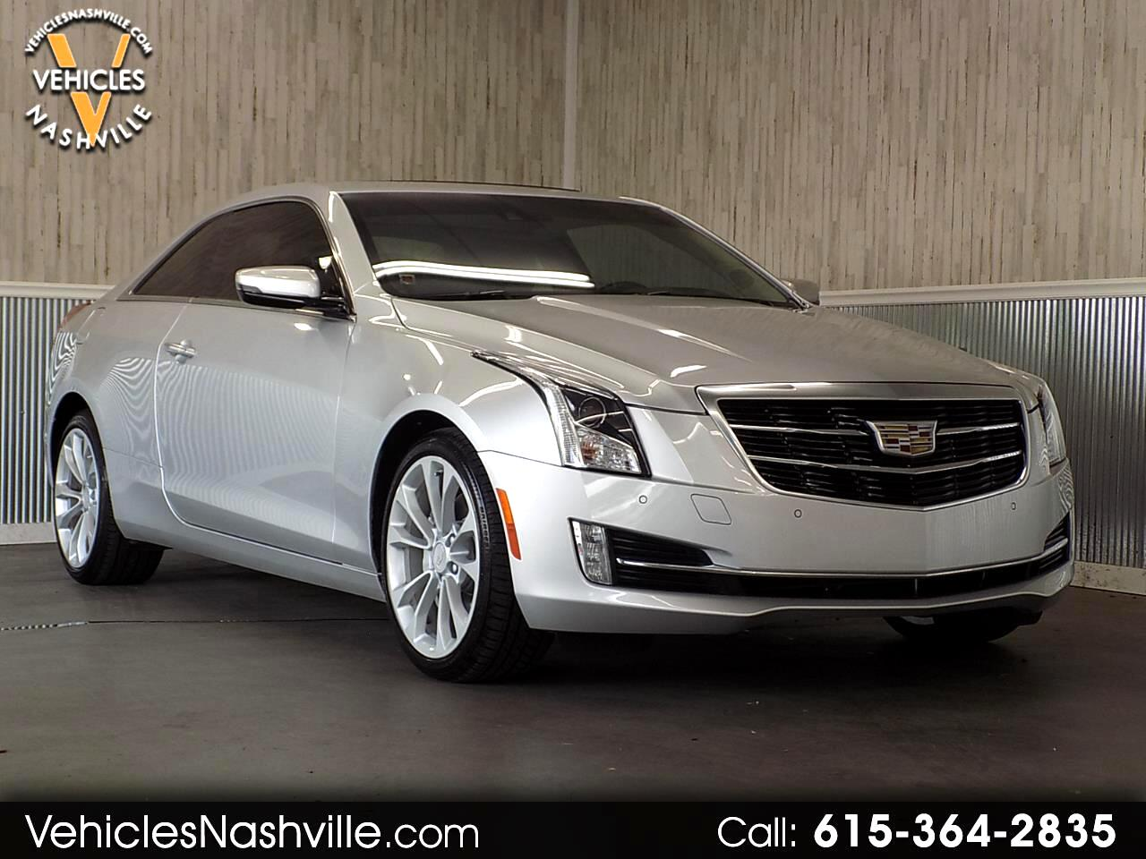 Cadillac ATS Coupe 3.6L Performance AWD w/Driver Assist Pkg. 2017
