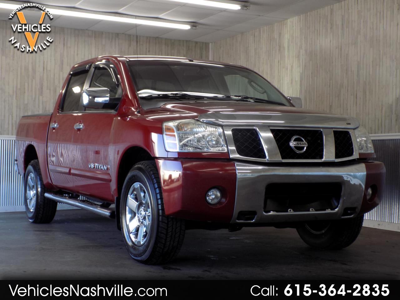 Used 2007 Nissan Titan 4wd Crew Cab Se For Sale In Nashville Tn 37210 Vehicles Nashville