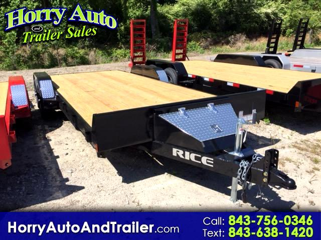 2018 Rice FMC8220 20 ft car hauler