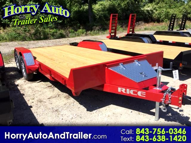 2018 Rice FMC8218 18 ft car hauler