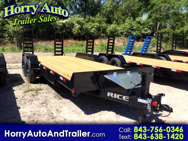 2018 Rice FMEH8220 20 ft equip hauler
