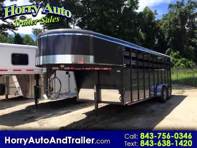 2018 Delta 500 Series 20 ft gooseneck stock