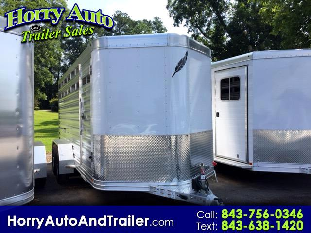 2019 Featherlite Trailers 8107 16' Bumper Pull Stock