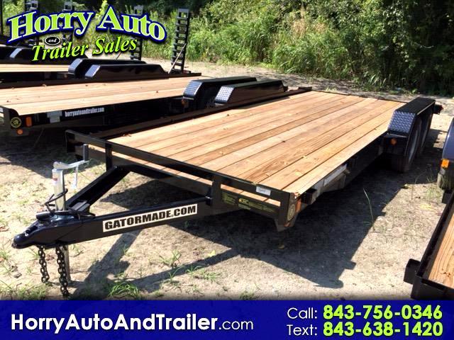 2018 Gatormade 18 ft Lowboy 18 ft lowboy car hauler