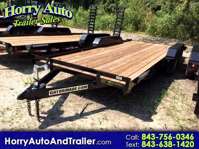 2018 Gatormade 18 ft Lowboy 18 ft car hauler