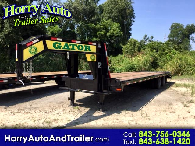 2018 Gatormade 20+5 Pintle 30 ft goose neck equipment hauler