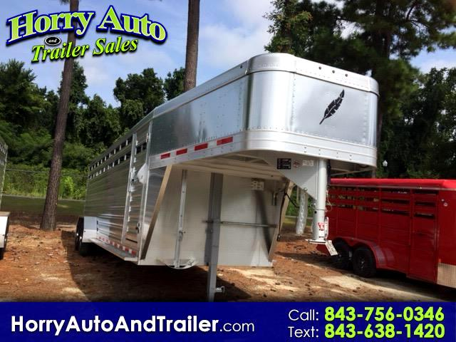 2019 Featherlite Trailers 8117 24 ft goose neck stock