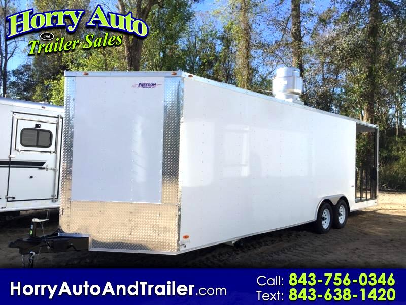 2019 Freedom 8.5X26 TA concession with porch