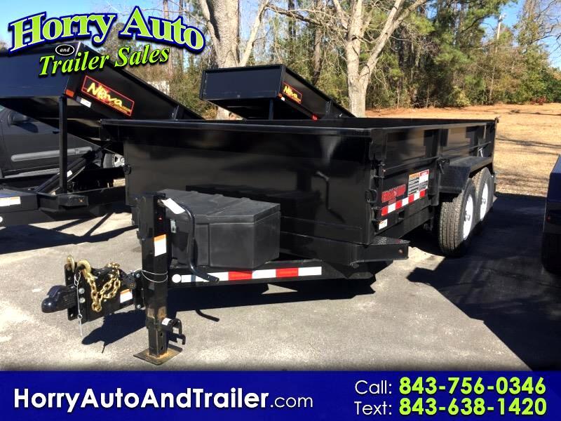 2019 Midsota HV14 14 ft dump trailer
