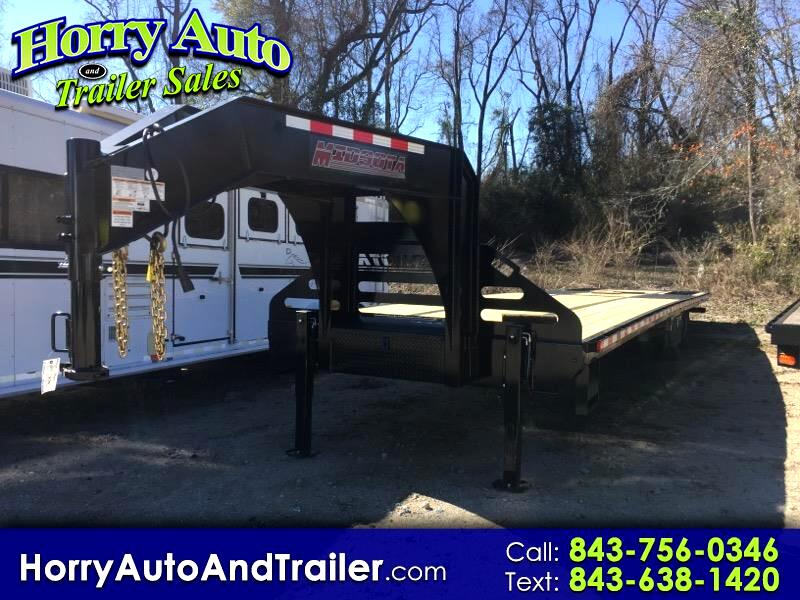 2019 Midsota FBGN Series 36 ft deckover w/ 9 ft hydraulic beaver tail