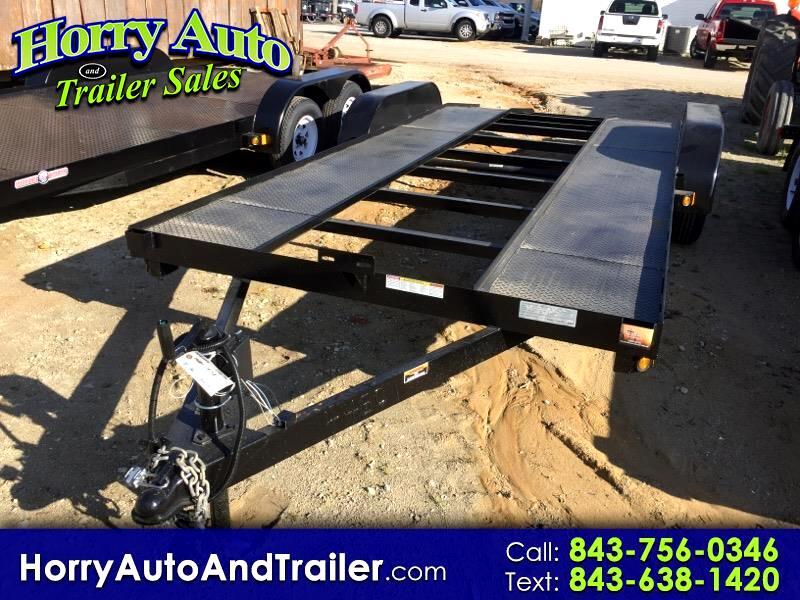 2020 Currahee C718DPR 18 ft car hauler