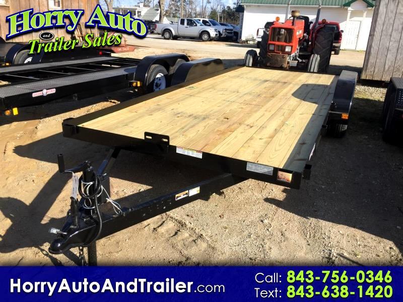 2020 Currahee C718 18 ft car hauler