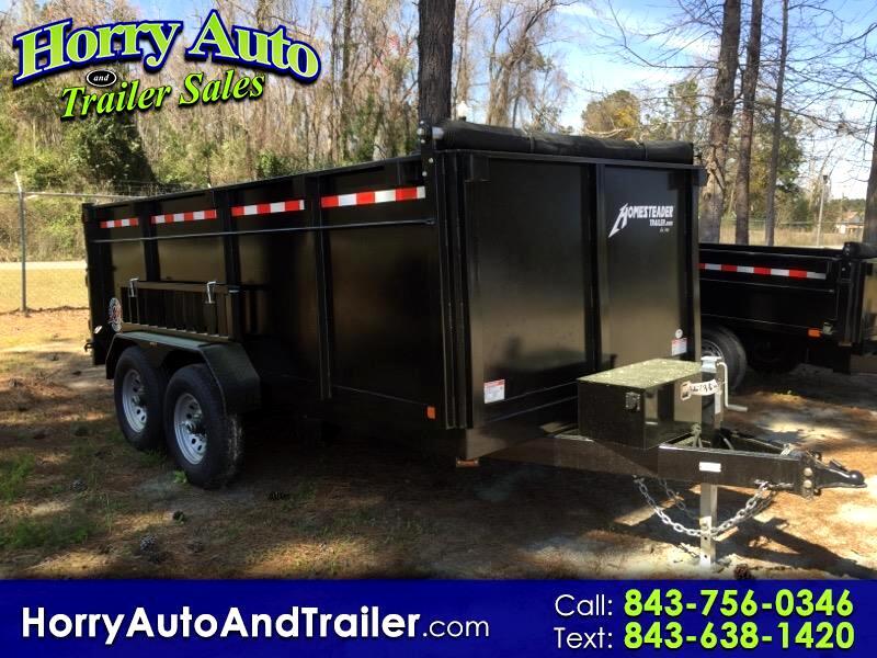 2019 Homesteader 714HX dump trailer