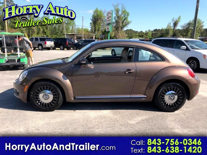 2013 Volkswagen Beetle 2dr Auto 2.5L w/Sun