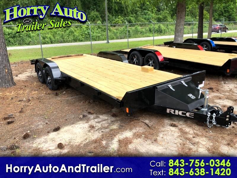 2020 Rice FMEH8220 20 ft car hauler