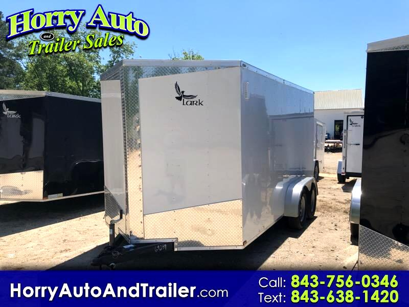 2019 Lark 7X14 TA v nose ramp door 6 inch xtra height