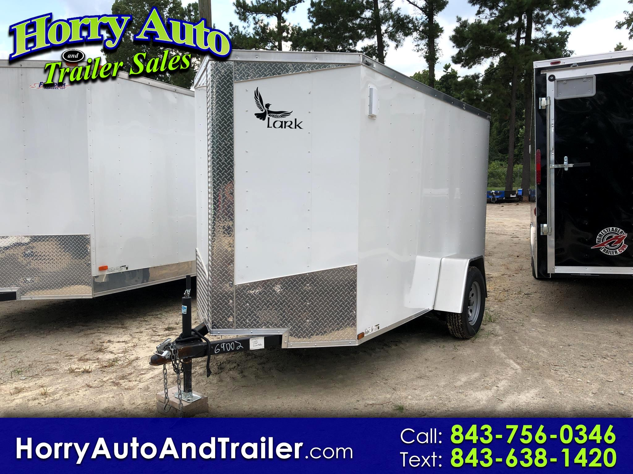 2019 Lark 5X10 SA v nose barn door