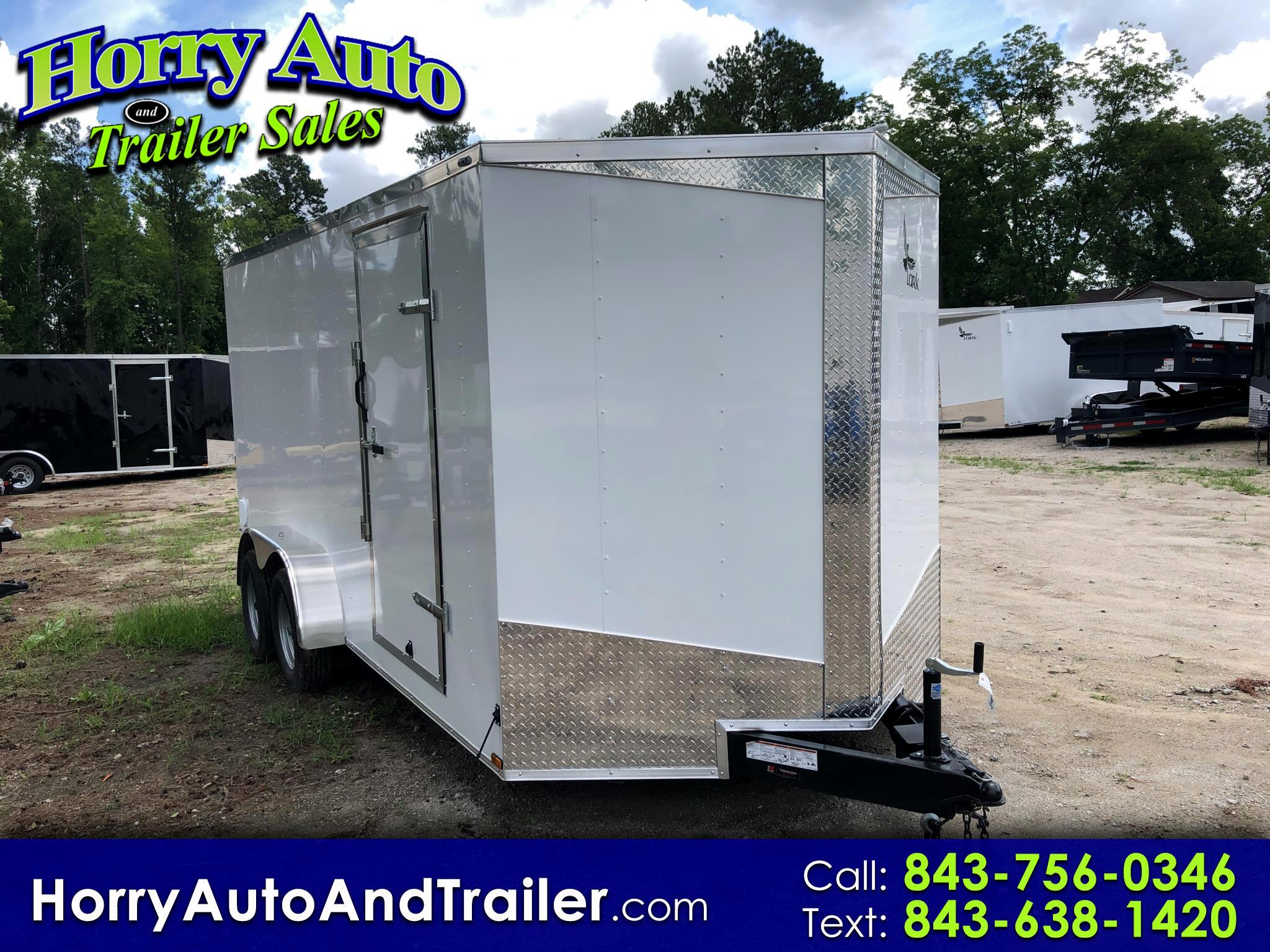 2019 Lark 7X16 TA v nose ramp door 6 inch xtra height