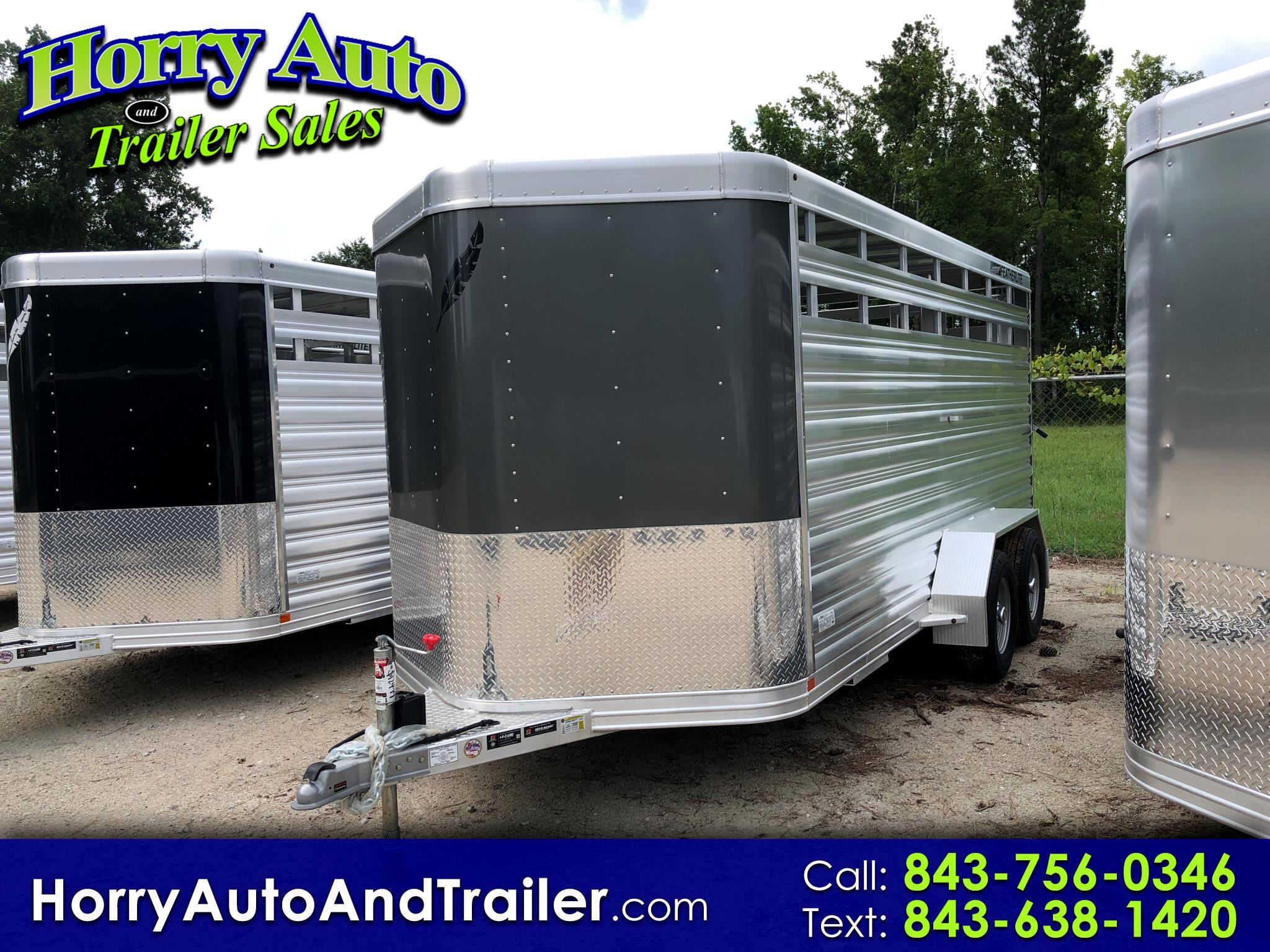 2020 Featherlite Trailers 8107 16 ft bumper pull