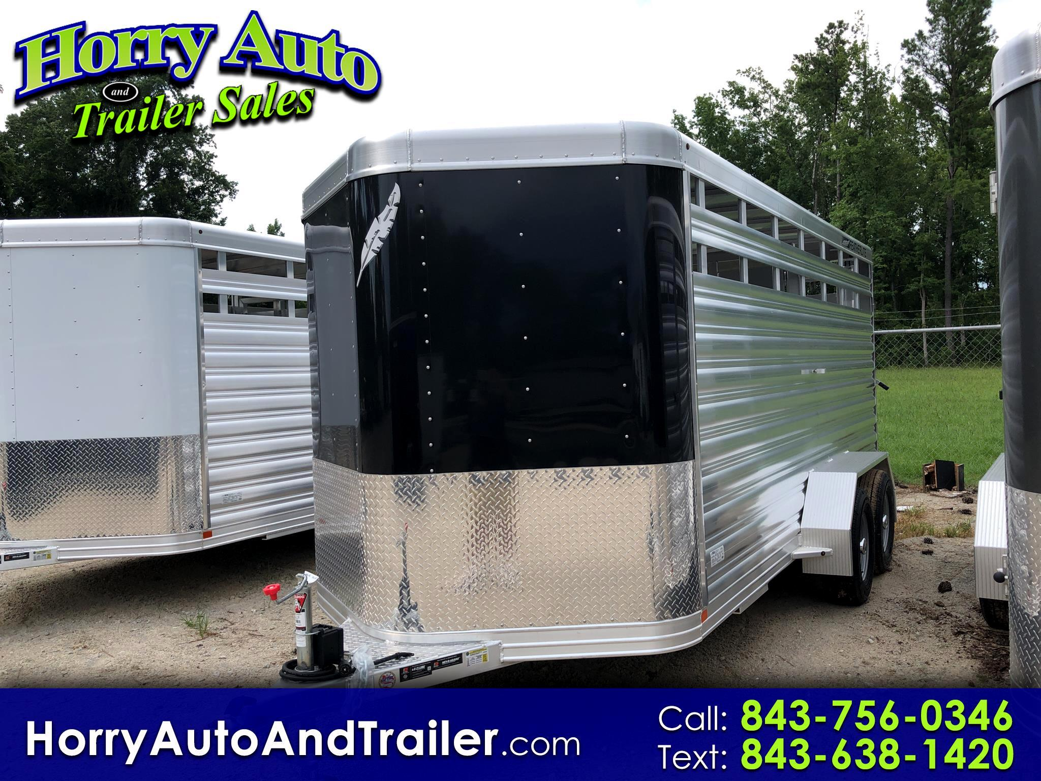 2019 Featherlite Trailers 8107 16 ft bumper pull