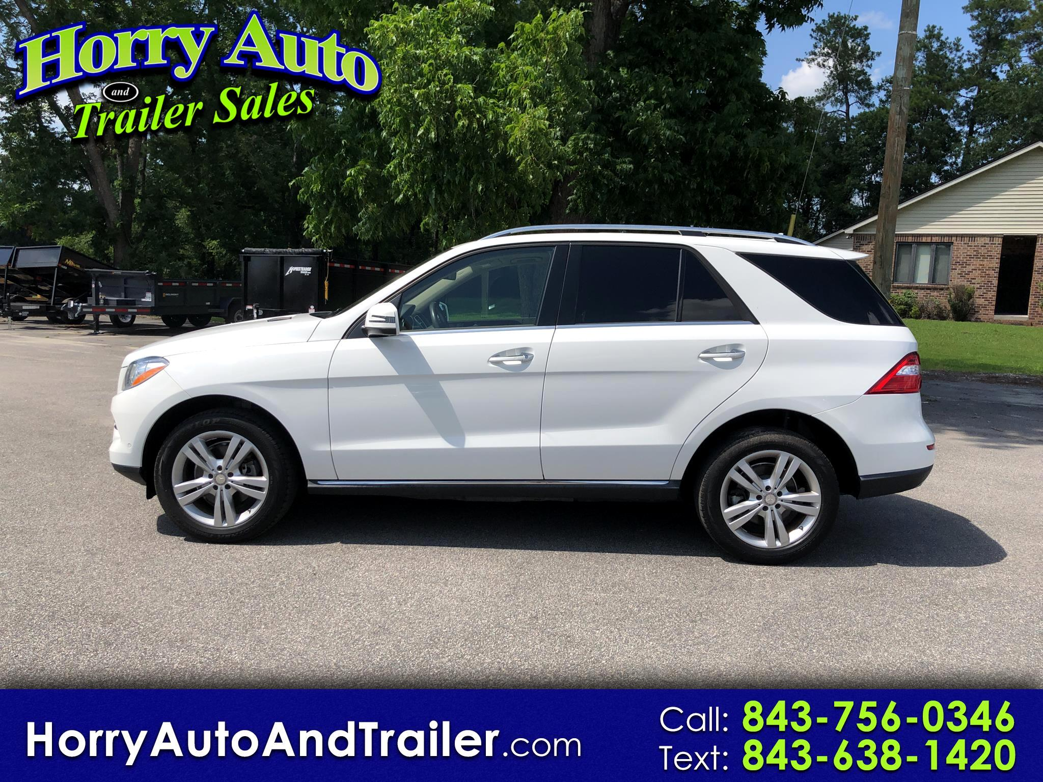 2014 Mercedes-Benz M-Class 4MATIC 4dr ML 350 BlueTEC