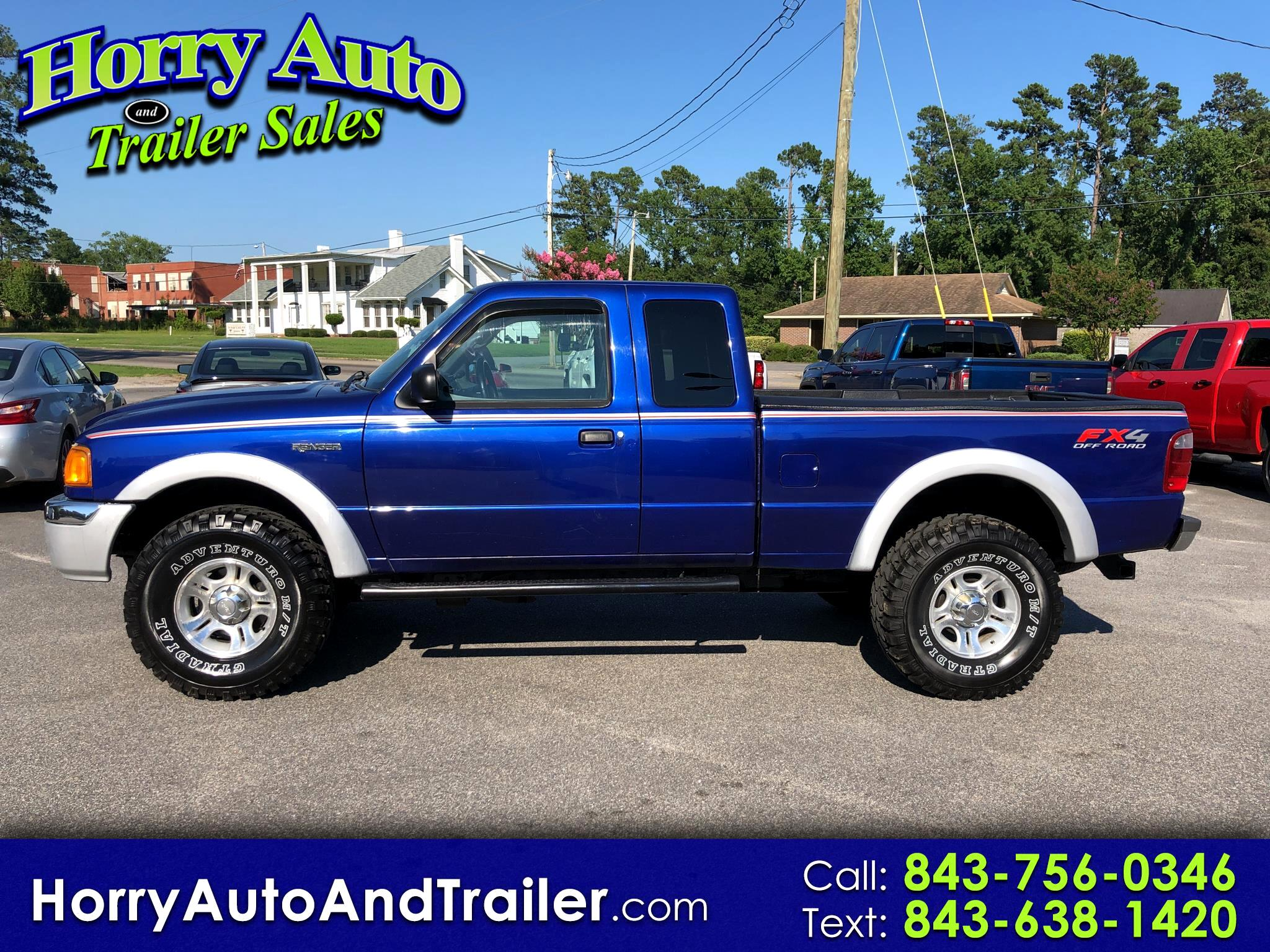 "2005 Ford Ranger 4dr Supercab 126"" WB FX4 Lvl II 4WD"