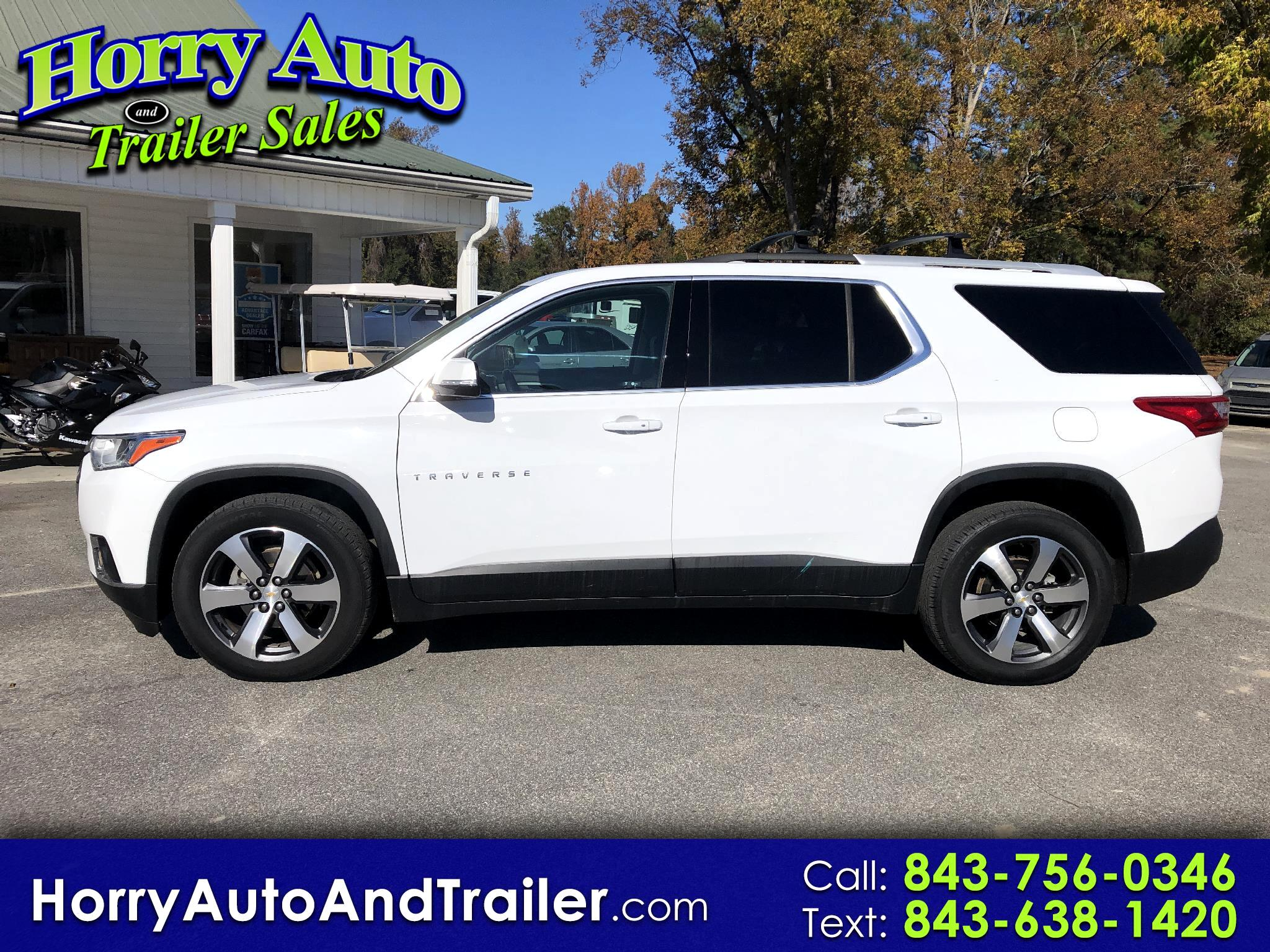 Chevrolet Traverse AWD 4dr LT Leather w/3LT 2018