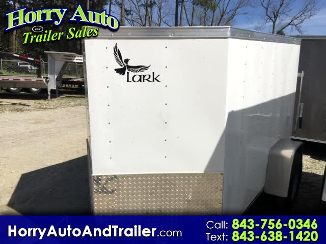 2016 Lark 5X8 SA v nose ramp door