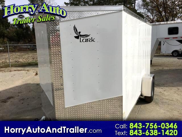 2017 Lark 6X12 SA v nose ramp door