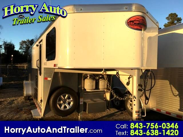 2017 Sundowner Santa Fe Super Sport 3 horse with living quarters