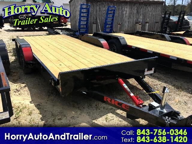 2017 Rice Full Tilt 16 ft car hauler