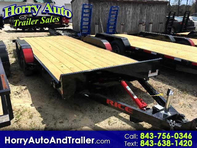 2017 Rice Full Tilt 16 ft car hauler