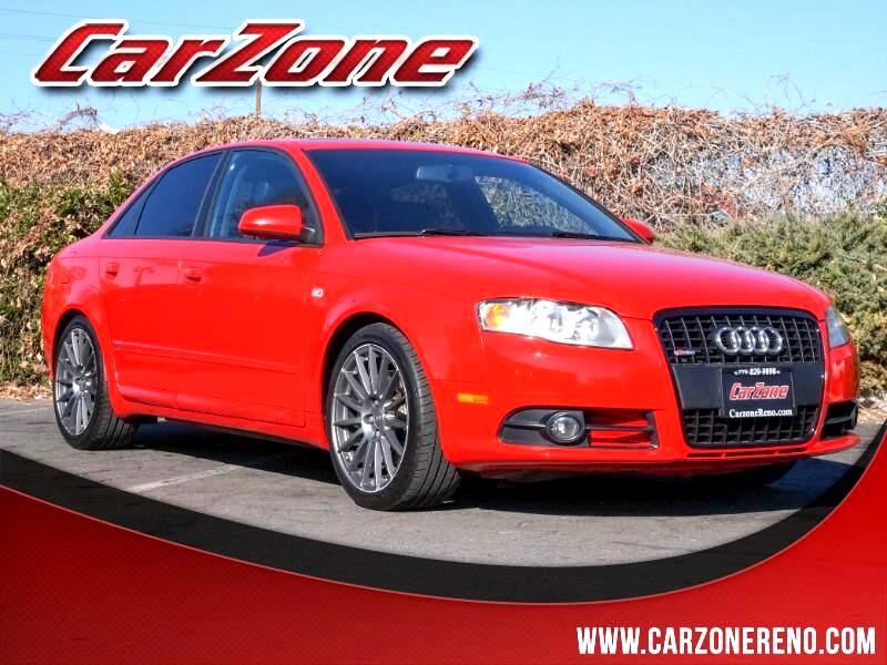 2008 Audi A4 S-Line with Premium Package