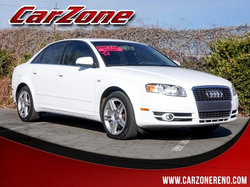 2007 Audi A4 2007 4dr Sdn Manual 2.0T FrontTrak