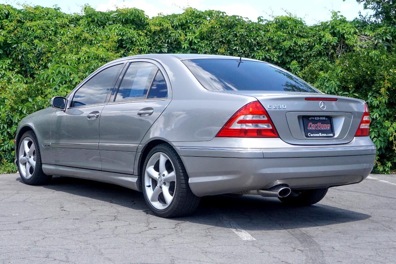 Used 2006 Mercedes-Benz C-Class C230 Sport Sedan for Sale ...