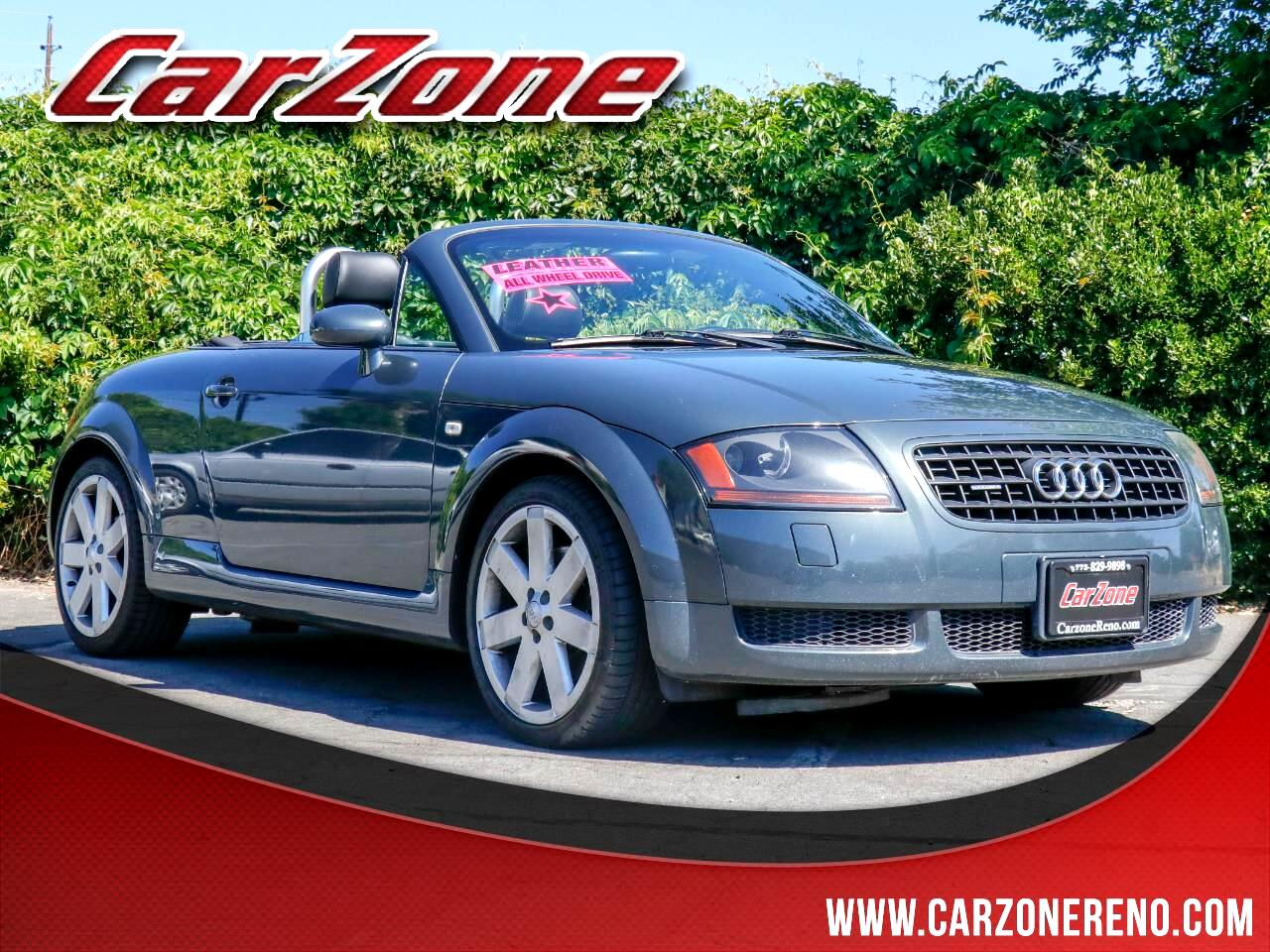2003 Audi TT 2dr Roadster quattro Manual